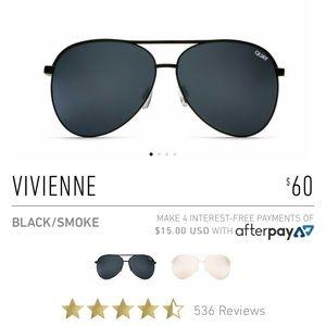 Quay Vivienne sunglasses NWT